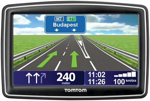 tomtom magyarország térkép TomTom XXL IQ Route Traffic Európa 42 országos tomtom magyarország térkép